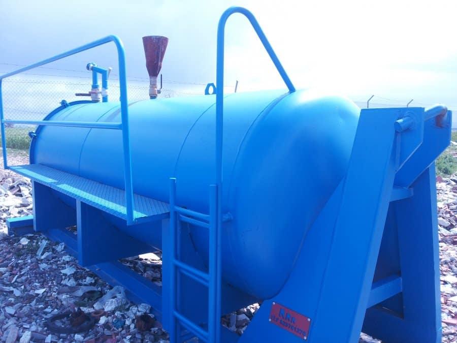 Contenedores RRR: contenedor para transportar líquido